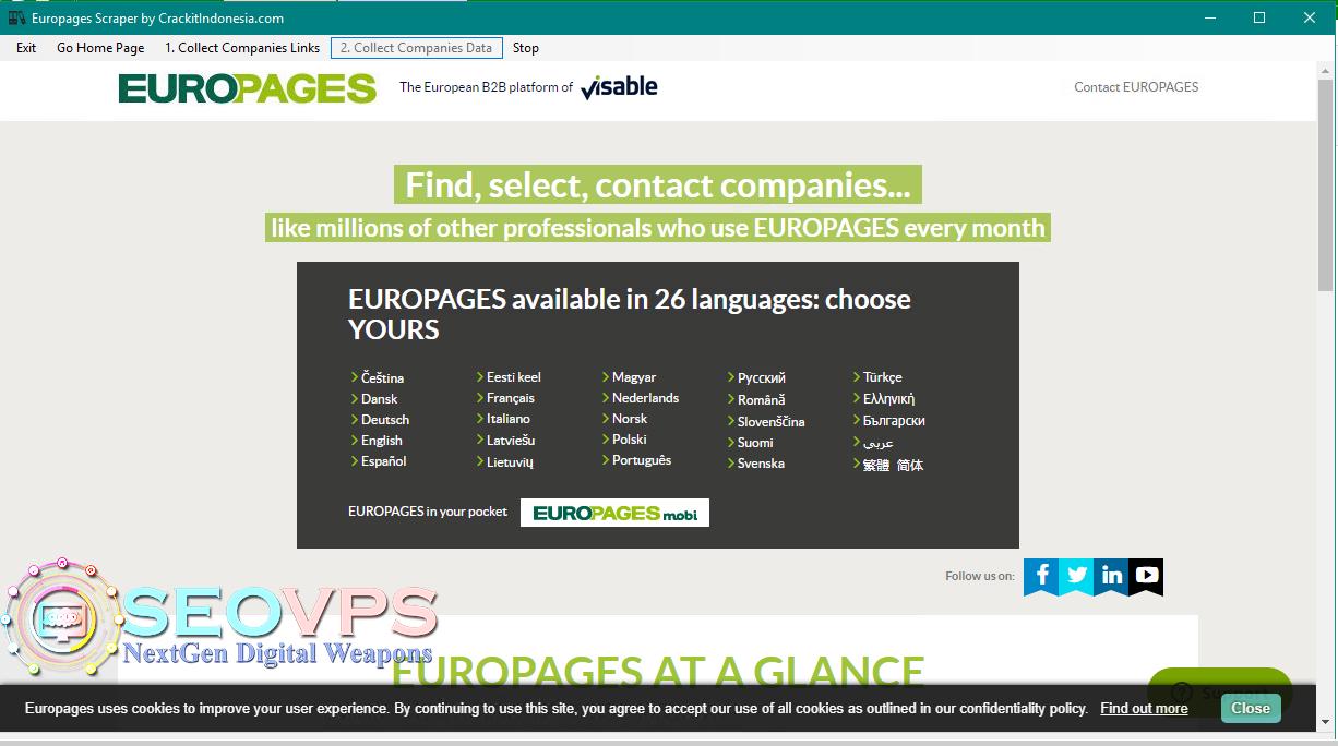 Europages-scraper