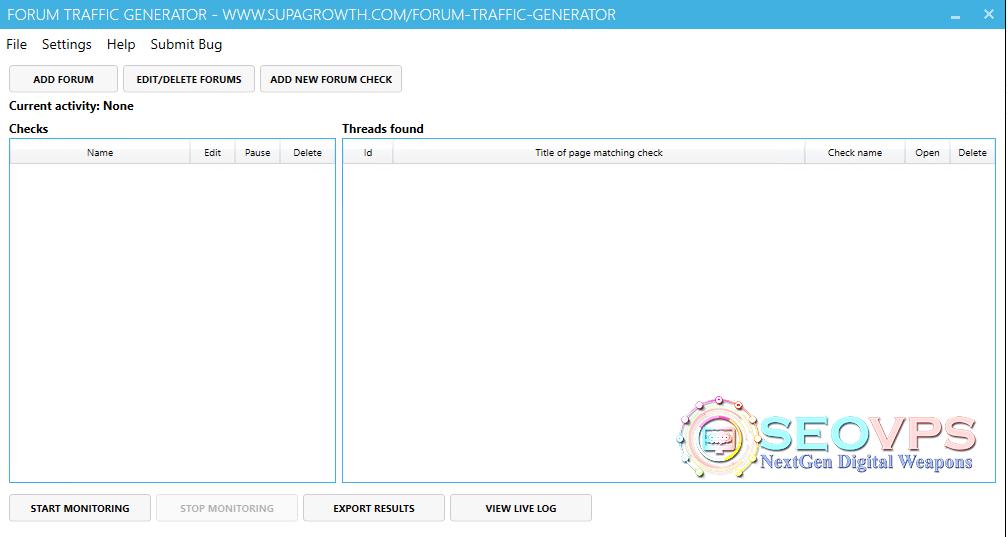 Forum-traffic-generator