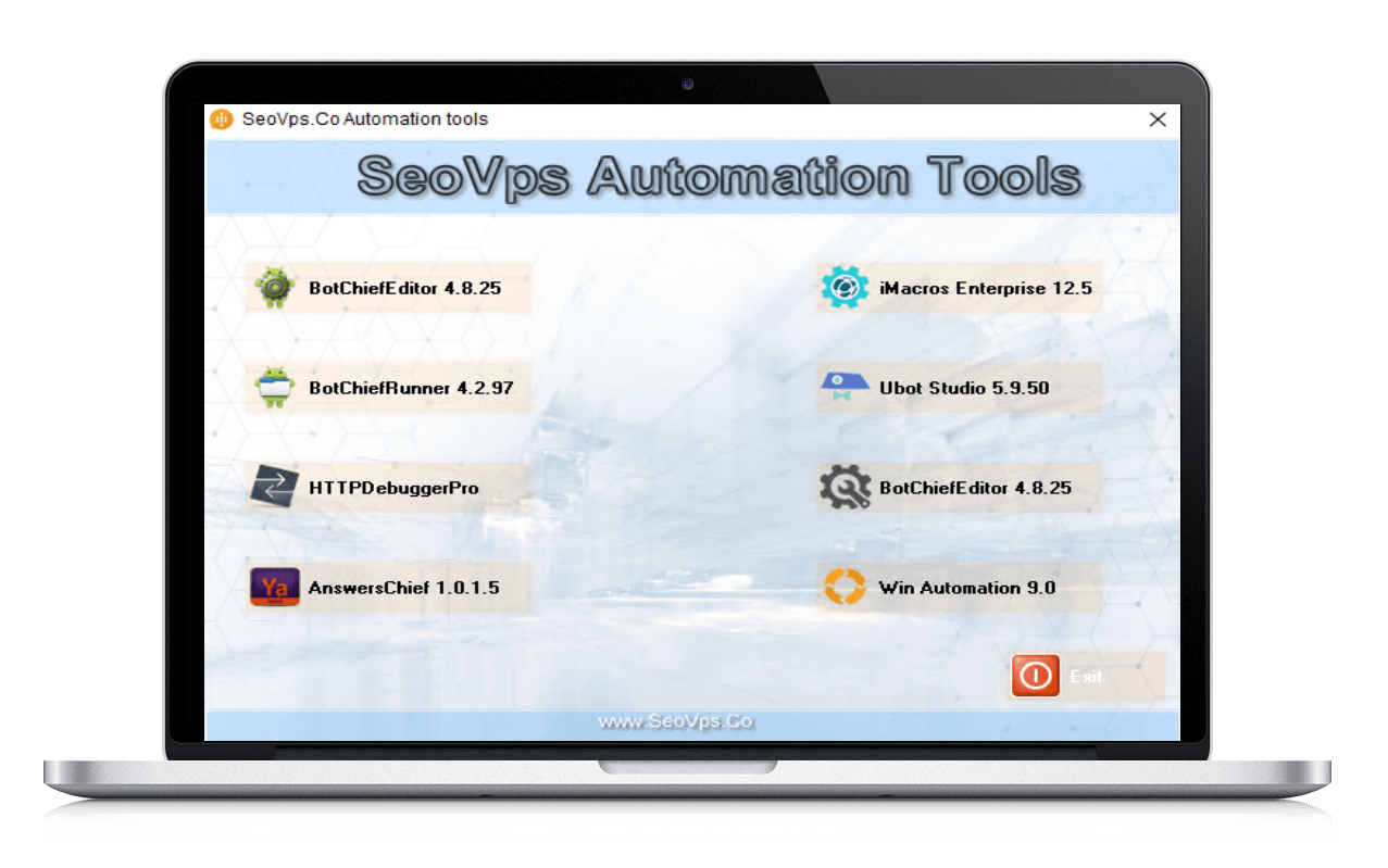 SeoVps Automation Tools