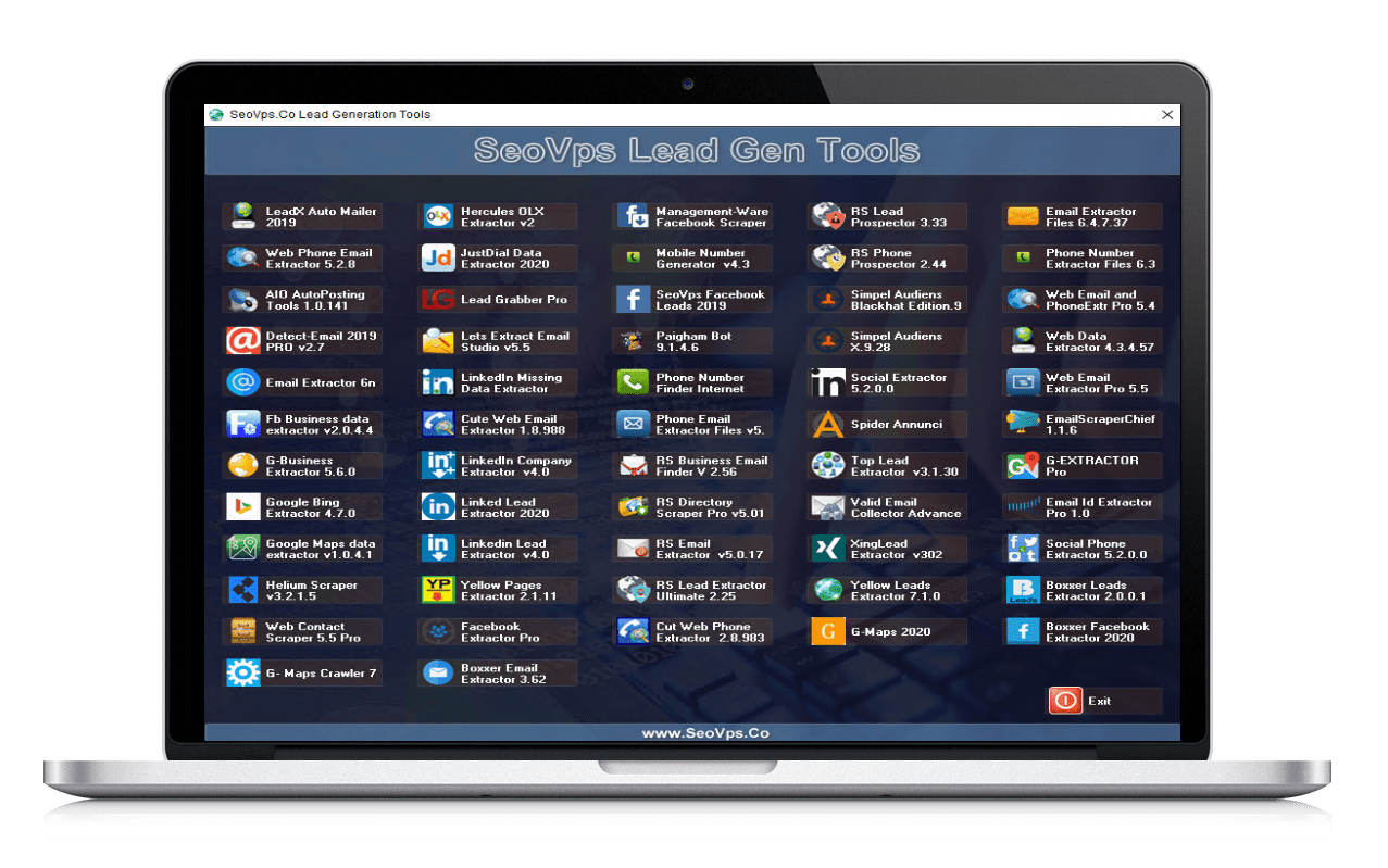 SeoVps Lead Gen Tools