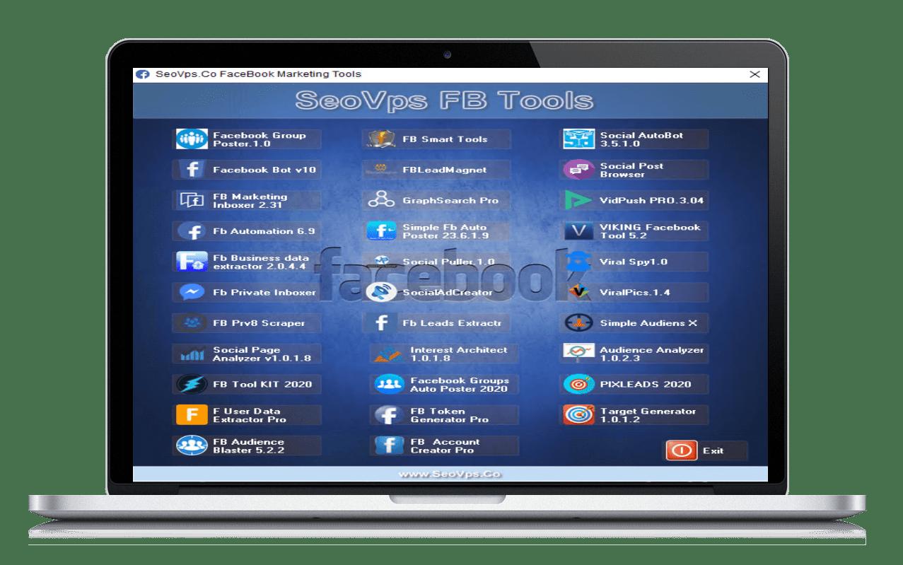 SeoVps facebook tools